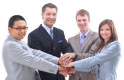 Spirito di squadra e di lavoro di squadra Immagini Stock