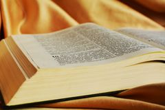 Spirito e la bibbia Fotografie Stock