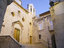 Spirito Santo Church. Giovinazzo. Apulia. Royalty Free Stock Image