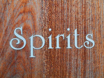 Spirits Royalty Free Stock Image