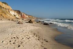 Spiritual Beach on Martha's Vineyard Stock Photos