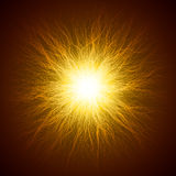 Spiritual beam effect Royalty Free Stock Images
