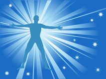 Spiritual energy Royalty Free Stock Images