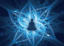 Spiritual energy Royalty Free Stock Photography