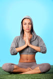 Spiritual energy Stock Images