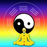 Spiritual energy royalty free illustration