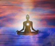 Free Spiritual Energy Healing Power, Connection, Conscience Awakening, Meditation, Expansion Stock Image - 194366001