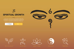 Spiritual Growth Concept Royalty Free Stock Photo