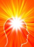 Spiritual man Royalty Free Stock Image