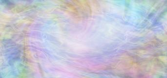 Spiritual Mindfulness Multi-Coloured Flowing Background Stock Photos