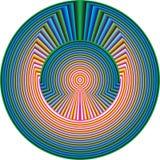 Spiritual Pattern Stock Image