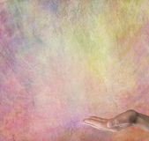 Spiritual Rainbow Message Board Background Royalty Free Stock Images