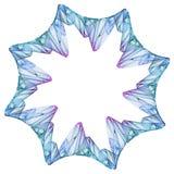 Spiritual snowflake Royalty Free Stock Photography