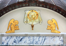 Spiritual symbols Royalty Free Stock Images
