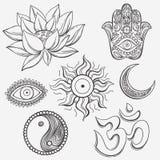 Spiritual symbols Stock Image