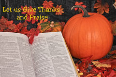 Spiritual Thanksgivings Royalty Free Stock Image