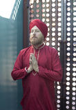 Spiritual Yoga Man Stock Photo