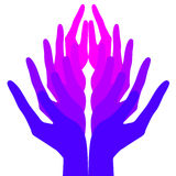 Spiritualité, paix et amour Photos libres de droits