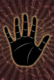 Spirituality hand Royalty Free Stock Image