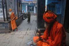 Spirituality in India Royalty Free Stock Image