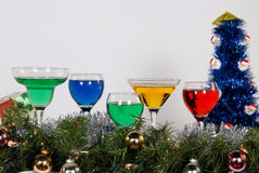 Spiritueux de Noël Photos stock