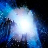 Spiritus-Stufe Stockbild