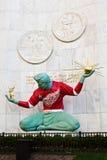 Spiritus von Detroit im roten Flügel Jersey Lizenzfreies Stockfoto