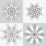 Spirograph designs Royalty Free Stock Images