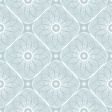 Spirograph geometrische het herhalen textuur Abstract vector naadloos moirépatroon Stock Illustratie