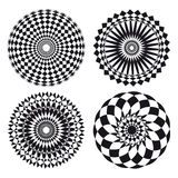 Spirograph ornament tattoo Royalty Free Stock Photos