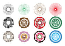 Spirograph spiral Royalty Free Stock Image