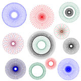Spirographs Royalty Free Stock Photo
