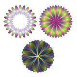 Spirographs Stockbild