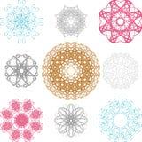 Spirographs Fotografie Stock