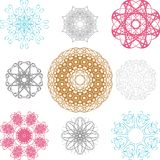 Spirographs Stock Photos
