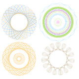 Spirol graph four Elements Stock Images