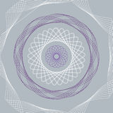 Spirol wykresu wektor ilustracja wektor