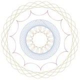 Spirol wykresu wektoru sztuka Zdjęcia Royalty Free