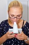 Spirometer stockbilder