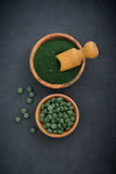 Spirulina Royalty Free Stock Photo