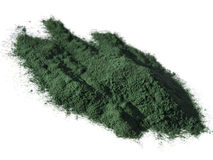 Spirulina powder Royalty Free Stock Image