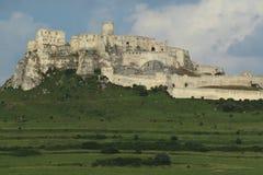 Spis城堡 库存照片