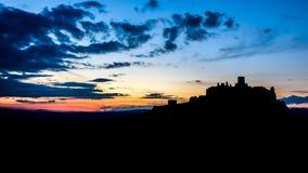 spis Словакии замока Стоковое Фото