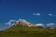 Spis Castle Stock Photo