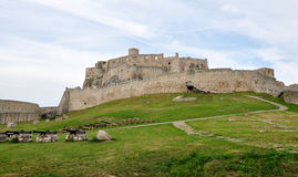 Spis Castle in Slovakia, Europe Royalty Free Stock Photo