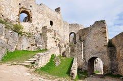Spis Castle in Slovakia, Europe. View Spis Castle, Slovakia, Europe royalty free stock image