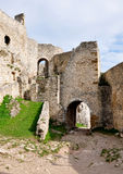Spis Castle, Slovakia, Europe. View Spis Castle, Slovakia, Europe royalty free stock photography