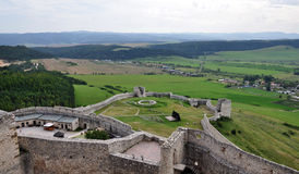 Spis Castle, Slovakia, Europe Royalty Free Stock Image
