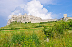Spis Castle, Slovakia. Spis Castle located in Slovakia royalty free stock photo