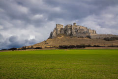 Spis castle in Slovakia Stock Images